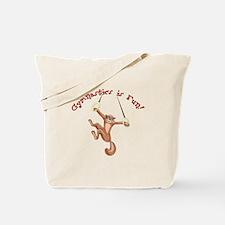 Gymnastics is Fun Tote Bag
