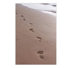 Footprints Postcards (Package of 8)