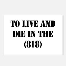 TO LIVE AND DIE IN THE (818) Postcards (Package of