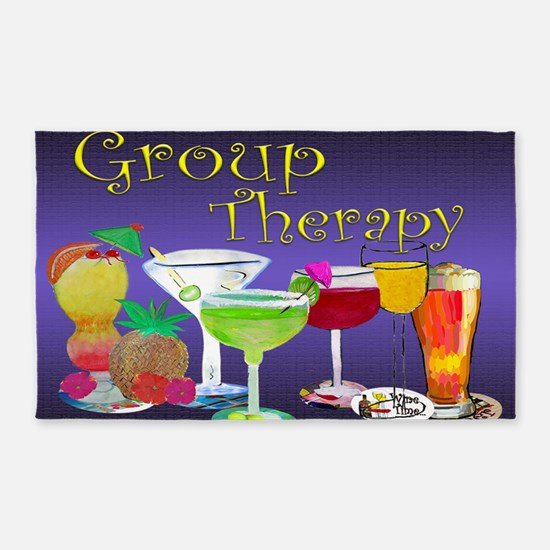 Group Therapy 3'x5' Area Rug