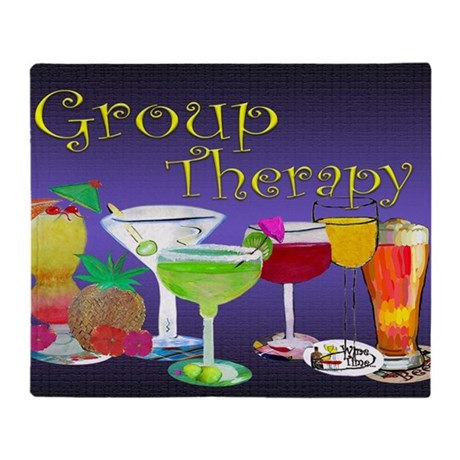 Group Therapy Throw Blanket