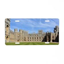Windsor Castle Aluminum License Plate