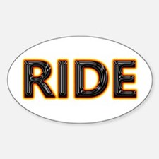 Ride Motorcycles Oval Decal