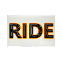 Ride Motorcycles Rectangle Magnet (100 pack)