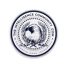 """The Intelligence Community 3.5"""" Button"""