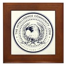 The Intelligence Community Framed Tile