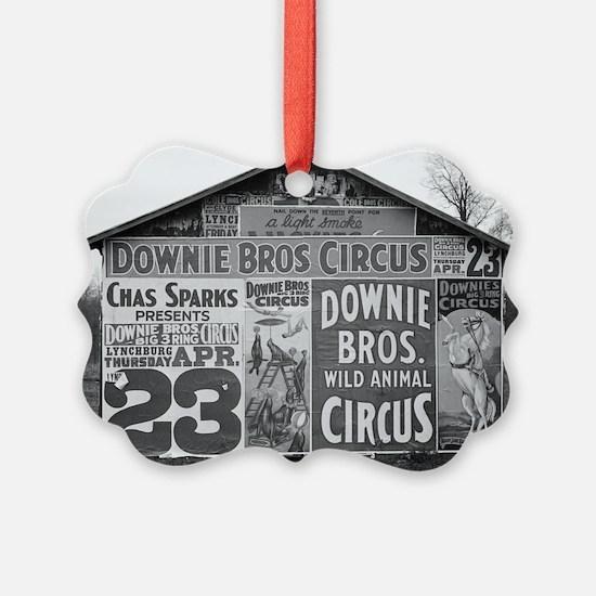 Downie Bros. Circus Ornament
