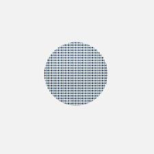 UNC Argyle Carolina Blue Tarheel Mini Button