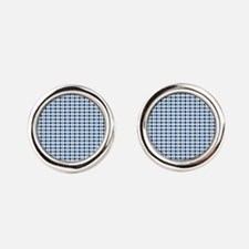 UNC Argyle Carolina Blue Tarheel Cufflinks