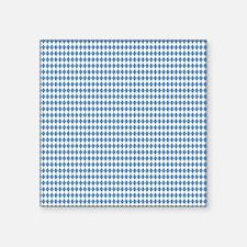 "UNC Carolina Blue Argle Bas Square Sticker 3"" x 3"""