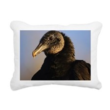 black vulture Rectangular Canvas Pillow