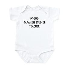 JAPANESE STUDIES teacher Infant Bodysuit