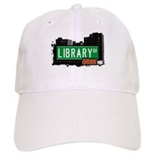Library Av, Bronx, NYC Baseball Cap