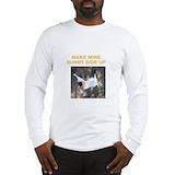 Fainting goat Long Sleeve T-shirts