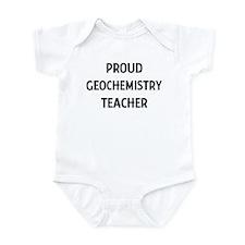 GEOCHEMISTRY teacher Infant Bodysuit