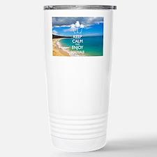 Keep Calm and Enjoy Haw Travel Mug