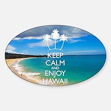 Keep Calm and Enjoy Hawaii (Shoulde Decal