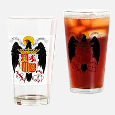 Franco  Falange Eagle Drinking Glass