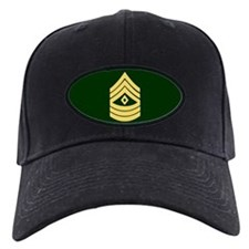First Sergeant<BR>Black Baseball Cap