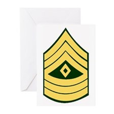 Army First Sergeant<BR>Greeting Cards (6)
