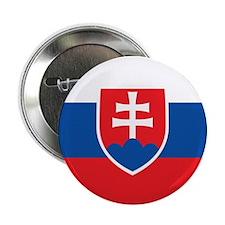 """Slovakia Flag 2.25"""" Button"""