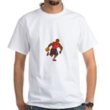 African american basketball t-shirts Mens White T-shirts