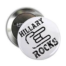 "Hillary Rocks: 2.25"" Button"