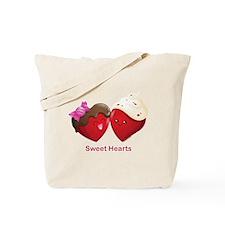 Valentines Sweet Hearts Tote Bag