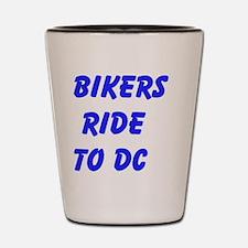 Bikers Ride to DC Shot Glass