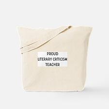 LITERARY CRITICISM teacher Tote Bag