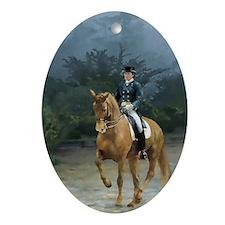PB Piaffe Dressage Oval Ornament