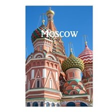 Moscow_8.887x11.16_iPadSl Postcards (Package of 8)