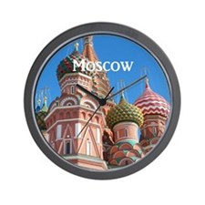 Moscow_8.887x11.16_iPadSleeveFront_StBa Wall Clock