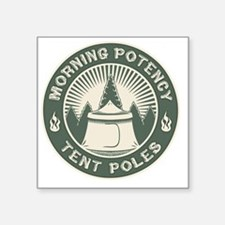 "morning-potent-DKT Square Sticker 3"" x 3"""