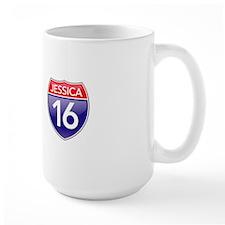 Jessica's 16th Birthday Mug
