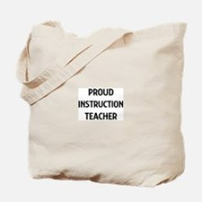 INSTRUCTION teacher Tote Bag