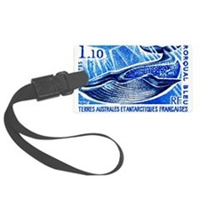 1977 French Southern Lands Blue Whale Stamp Luggag