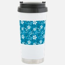 Tropical Floral Tiki Tu Travel Mug