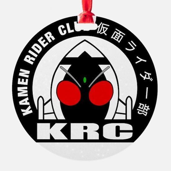 Kamen Rider Club Logo BLACK Ornament
