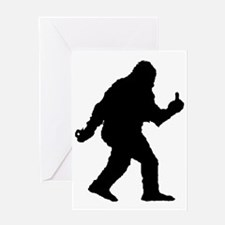 The Happy Sasquatch Greeting Card