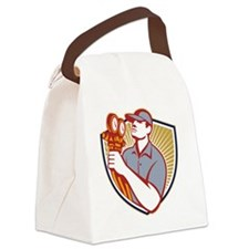 Refrigeration Air Conditioning Me Canvas Lunch Bag