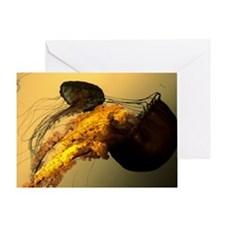 Golden Jelly Greeting Card