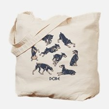 Dobes Doing Things Tote Bag