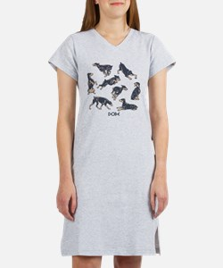 Dobes Doing Things Women's Nightshirt
