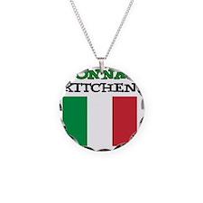 Nonnas Kitchen Italian Apron Necklace