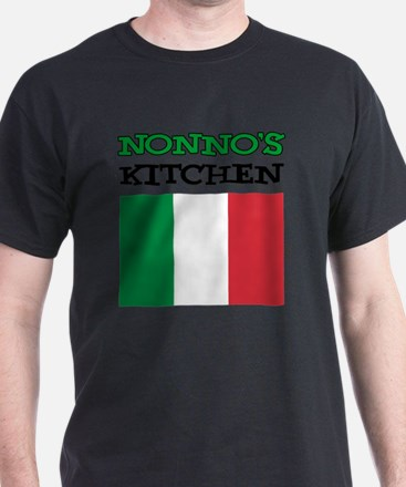 Nonnos Kitchen Italian Apron T-Shirt