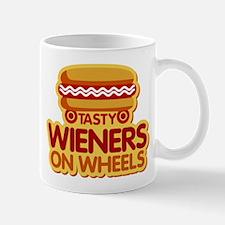 Tasty Wieners on Wheels Mugs