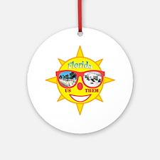 Florida 1 Round Ornament