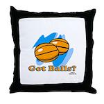 Got Basketballs? Throw Pillow