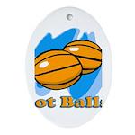Got Basketballs? Oval Ornament